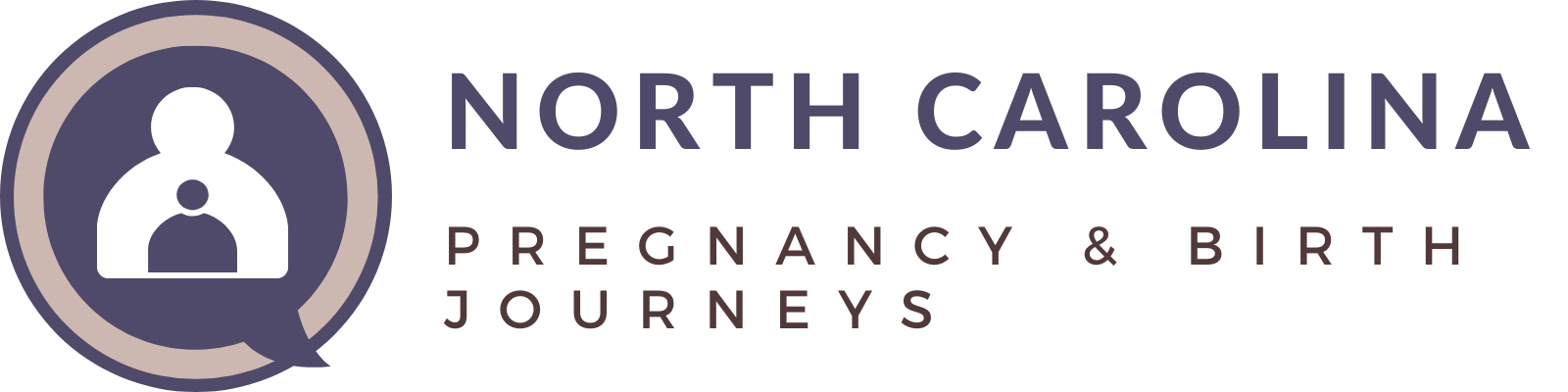 North Carolina Pregnancy & Birth Journeys Logo