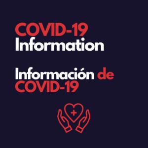 COVID-19 Information Información de COVID-19