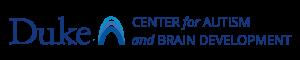 Duke Center for Autism Logo