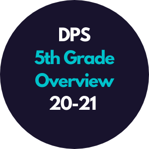 DPS 5th Grade Overview 2020-2021