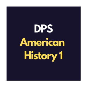 DPS American History 1 Curriculum Interview