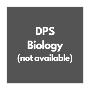 DPS Biology Curriculum Map, not available