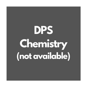 DPS Chemistry Curriculum Overview, not available