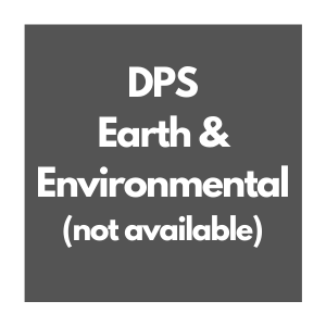 Earth and Environmental Science Curriculum Overview, not available