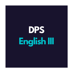 DPS English 3 Curriculum Overview