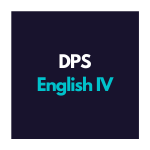 DPS English 4 Curriculum Overview