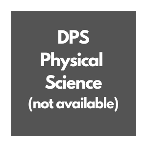 DPS Physical Science Curriculum Overview, not available
