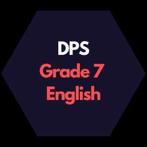 DPS Grade 7 English Curriculum Map