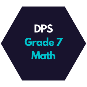 DPS Grade 7 Math Curriculum Map