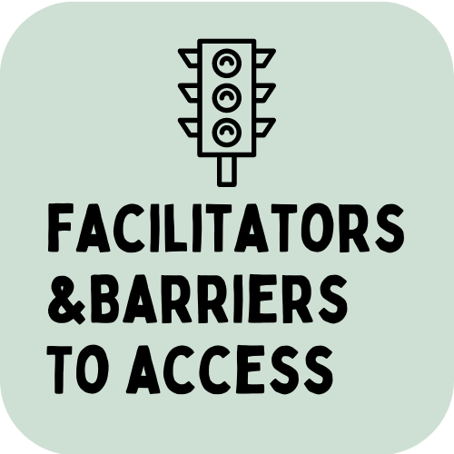 Facilitators and barriers to access link